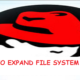 HOW TO EXPAND FILE SYSTEM IN RHEL