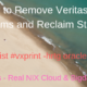 How to Remove Veritas File Systems and Reclaim Storage