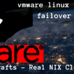 How to failover linux virtual machine in vmware