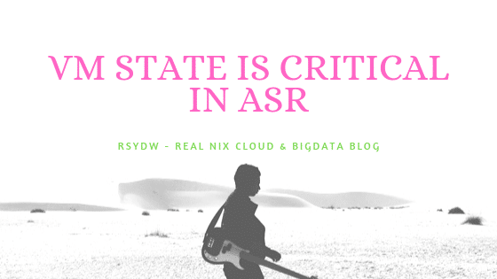 Virtual Machine Health is in Critical State in ASR