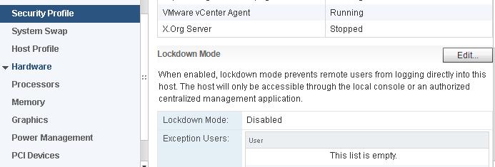 disable lockdown mode