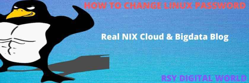linux-change-password