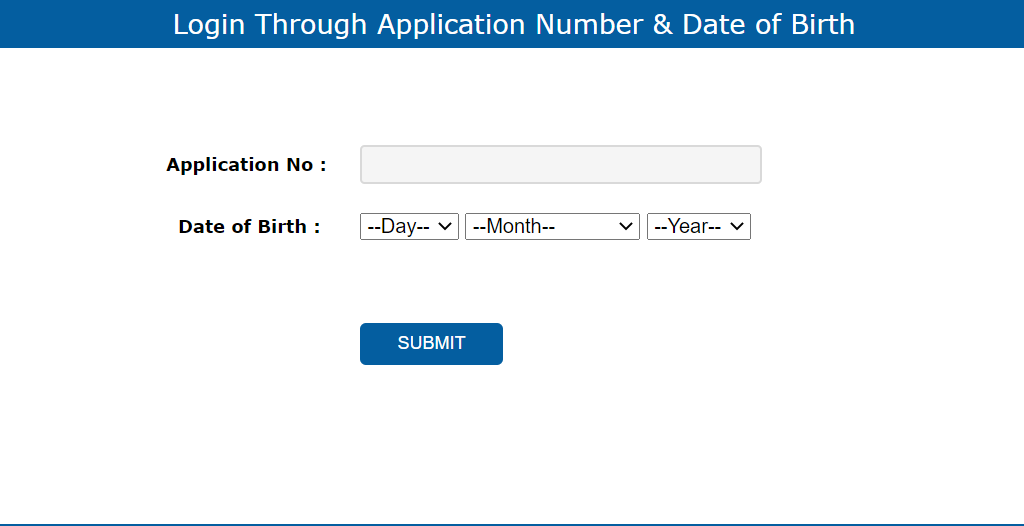 login-through-application-number-and-date-of-birth