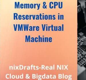 Memory and cpu reservation in vmware