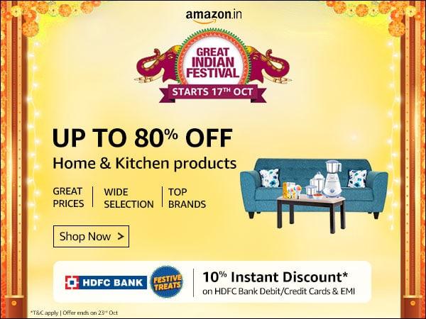 Upto 80% OFF on Kitchen Appliances